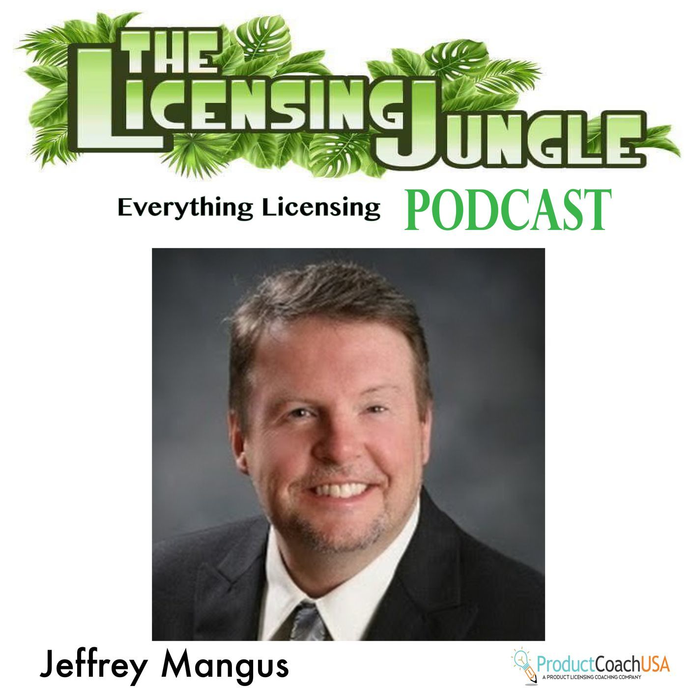 Artwork for LJS1e9 – The Licensing Jungle Explores with Kentucky's Inventors Council President.