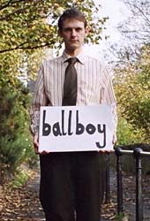 ballboy live in Scotland 2002.