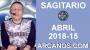Artwork for SAGITARIO ABRIL 2018-15-8 al 14 Abr 2018-Amor Solteros Parejas Dinero Trabajo-ARCANOS.COM