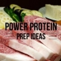 Artwork for Episode #6: Power Protein Prep Ideas