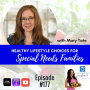"Artwork for Episode #177: ""Healthy Lifestyle Choices for Special Needs Families"" with Mary Tate"