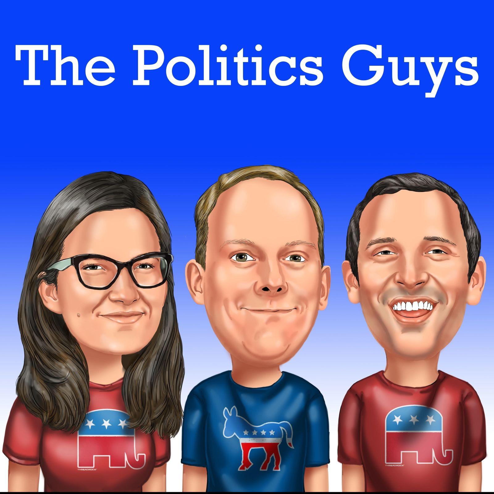 The Politics Guys show art