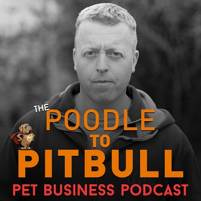 Poodle to Pitbull Pet Business Podcast - Episode 73 show art