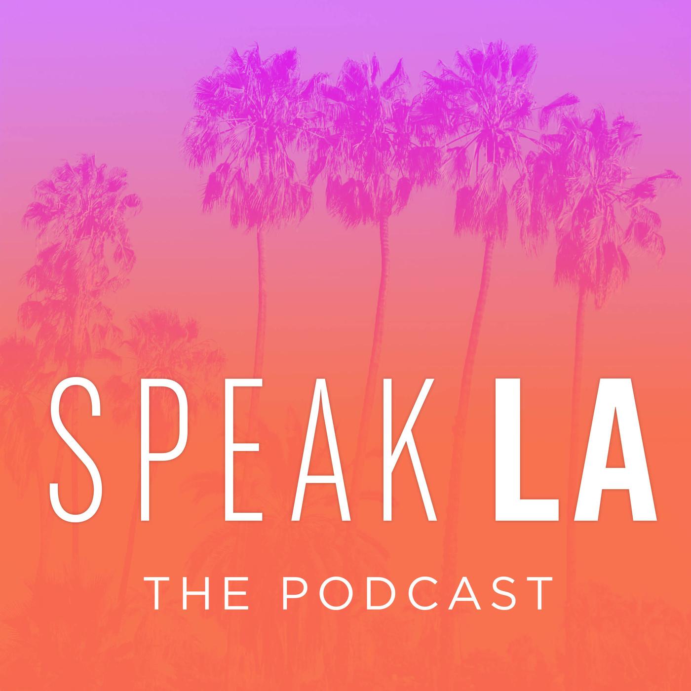 Speak L.A. show art