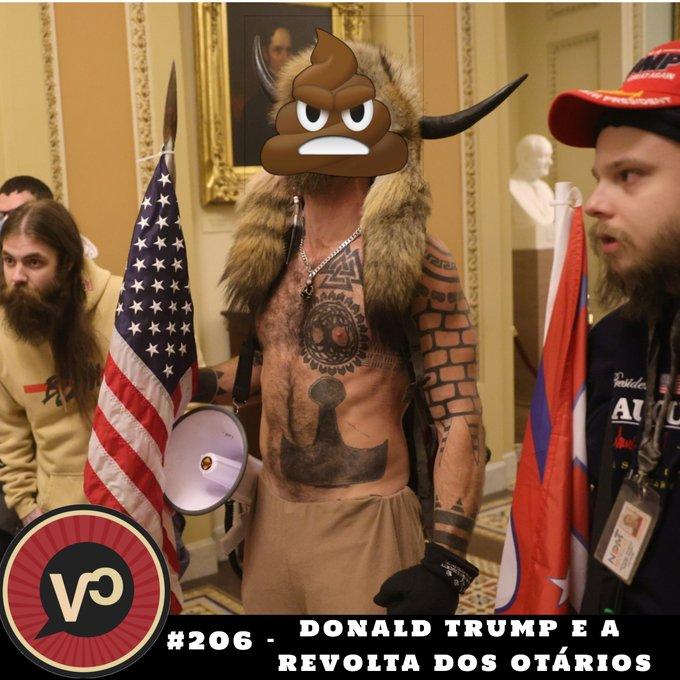 #206 Donald Trump e a Revolta dos Otários - com Tanguy Baghdadi e Amauri Gonzo
