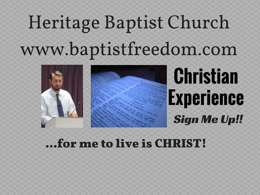 Artwork for The Christian Experience: Sign Me Up!!