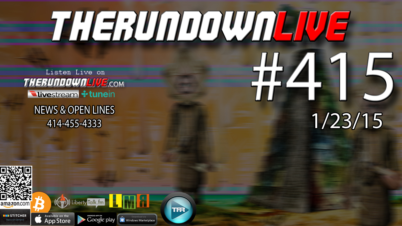 The Rundown Live #415 Open Lines (Agenda 21,Drug Test,Art)