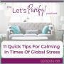 Artwork for 68: Eleven Quick Tips for Calming in Times of Global Stress
