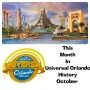 Artwork for This Month In Universal Orlando History - October