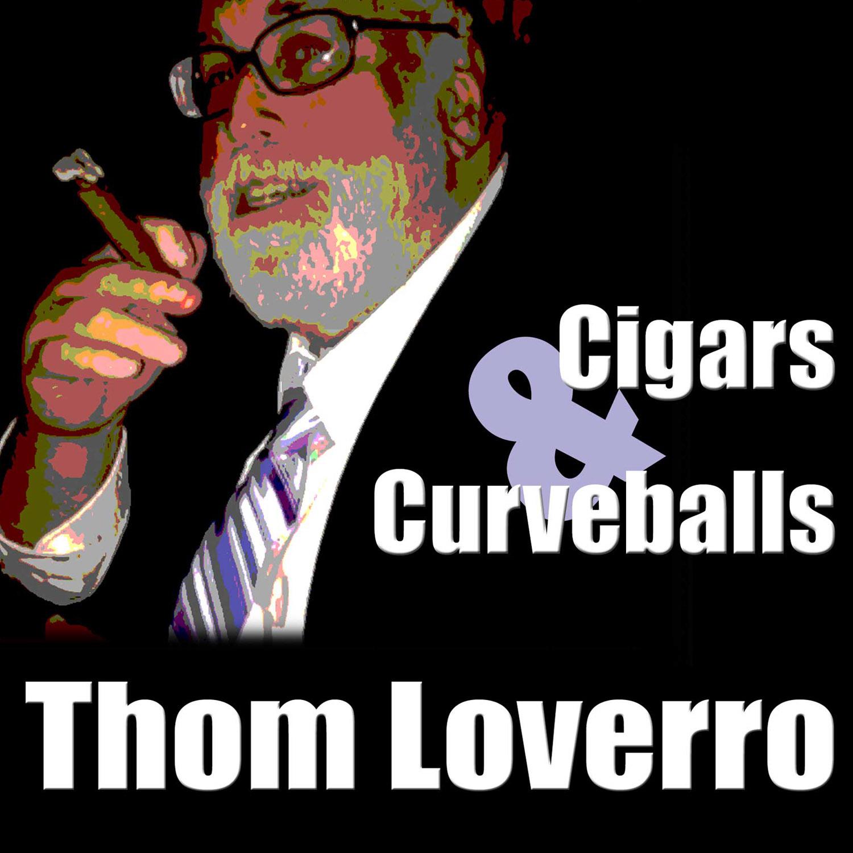 Thom Loverro's Cigars and Curveballs show art