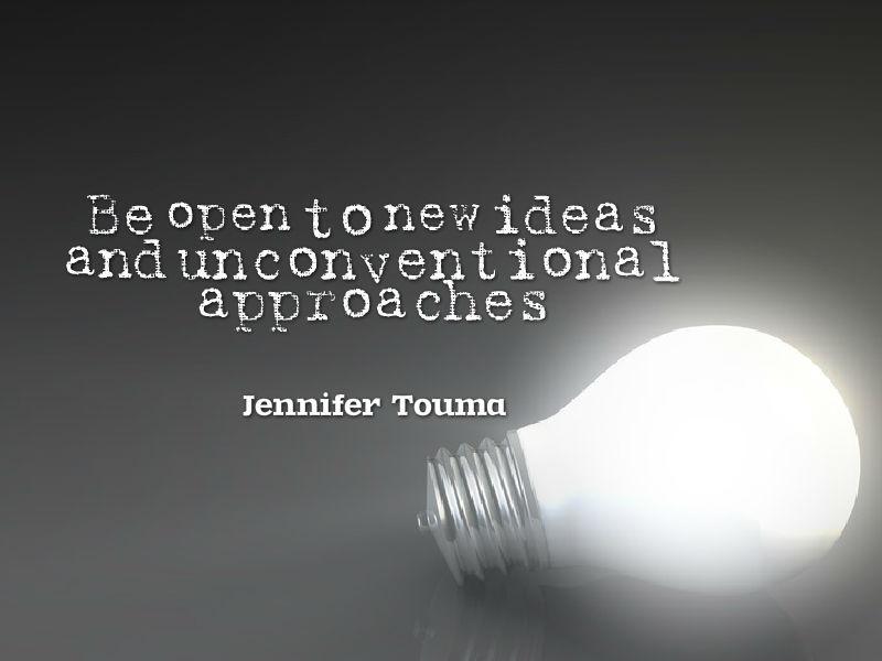 """Turn Uncertainty into Confidence"" with Jennifer Touma"