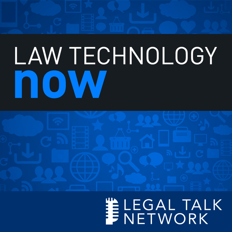 Law Technology Now show art