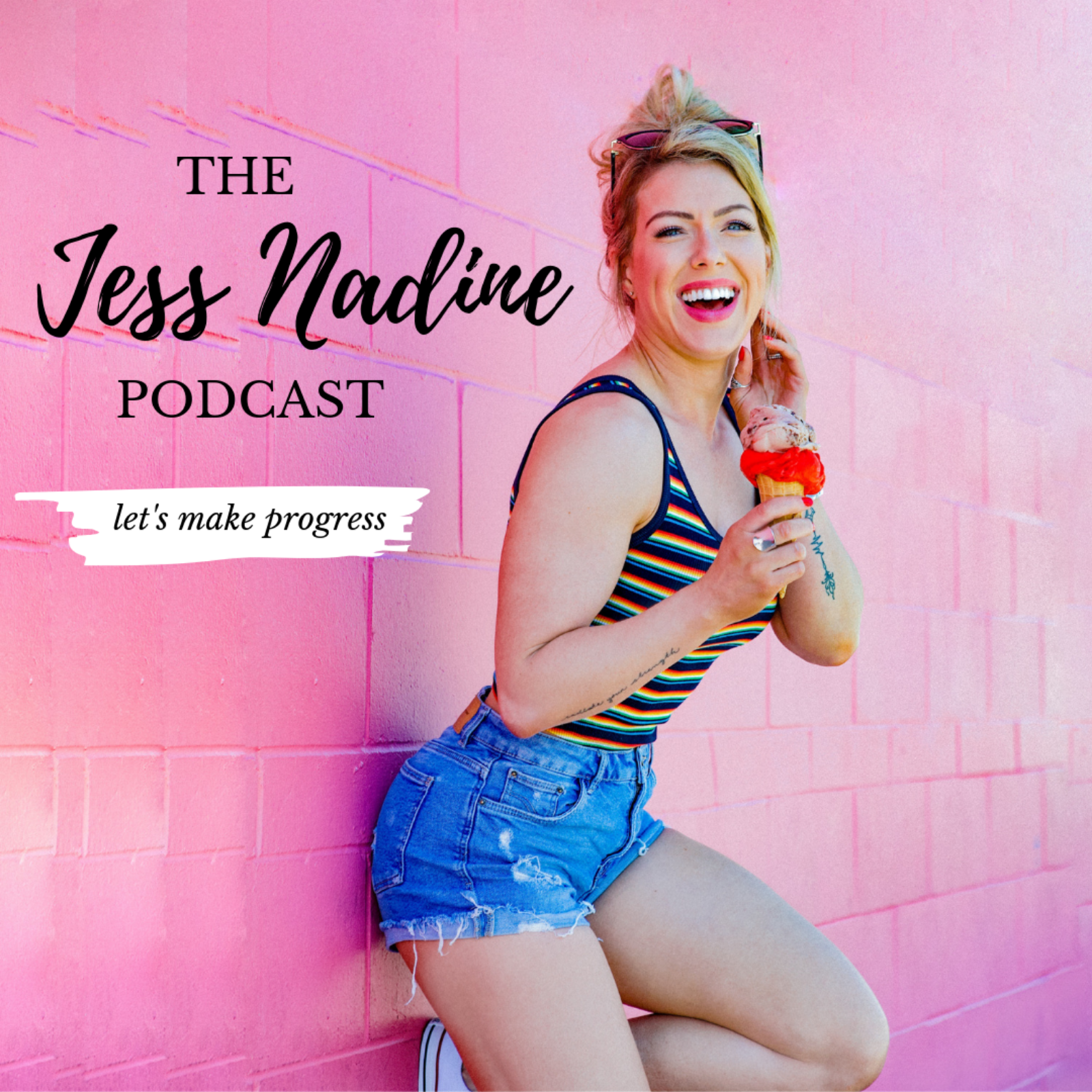 The Jess Nadine Podcast show art
