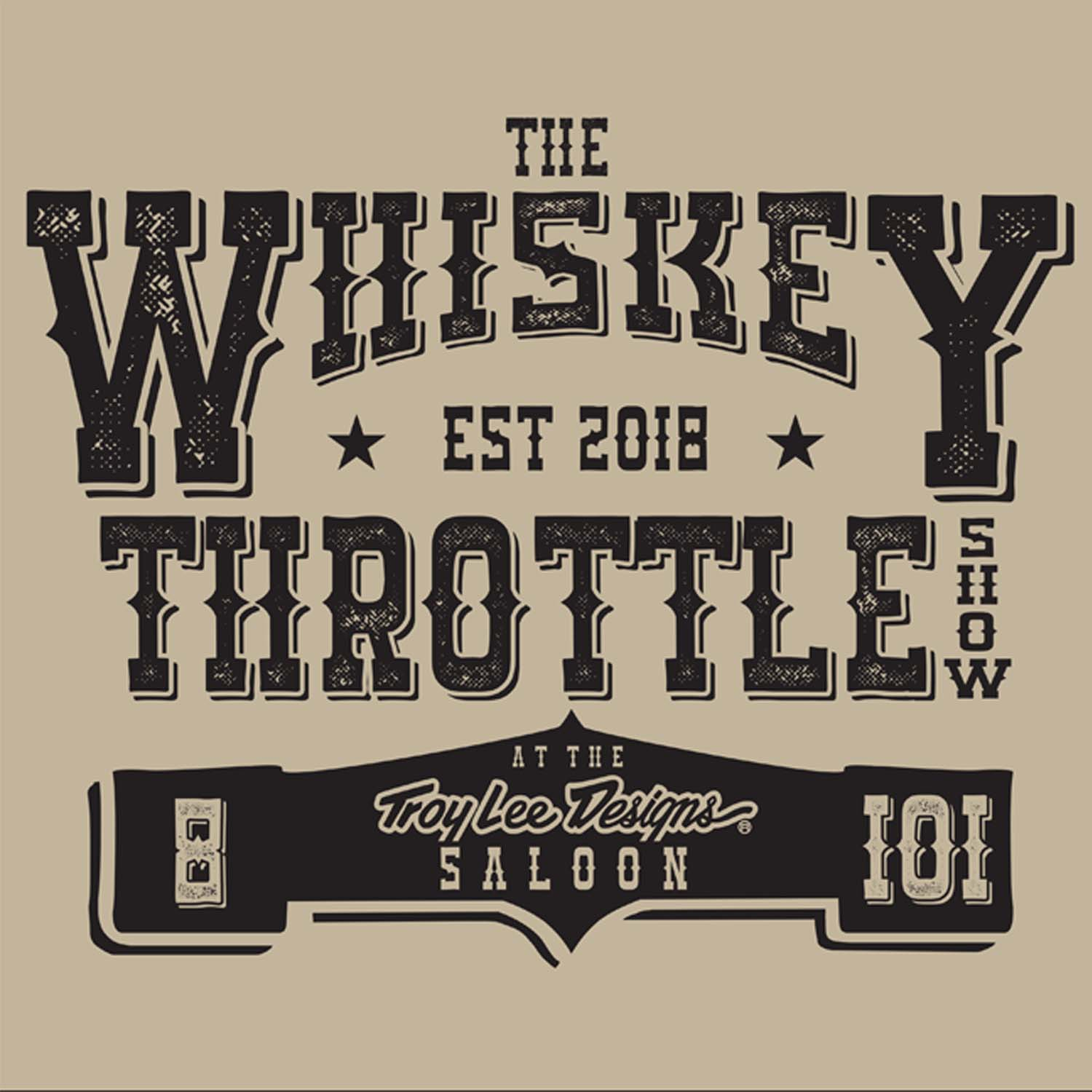 The Whiskey Throttle Show  show art