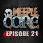 Artwork for MeepleCore Podcast Episode 21 - Guest game designer Steve Avery, new monopoly pieces, how we would spend a million dollars, and more!