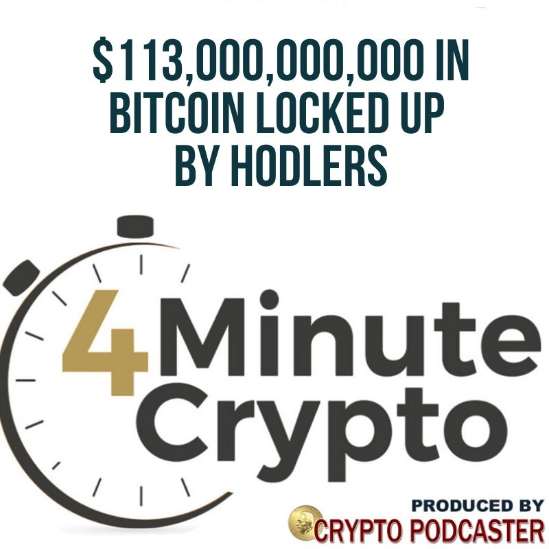 $113,000,000,000 in Bitcoin Locked Up by Hodlers