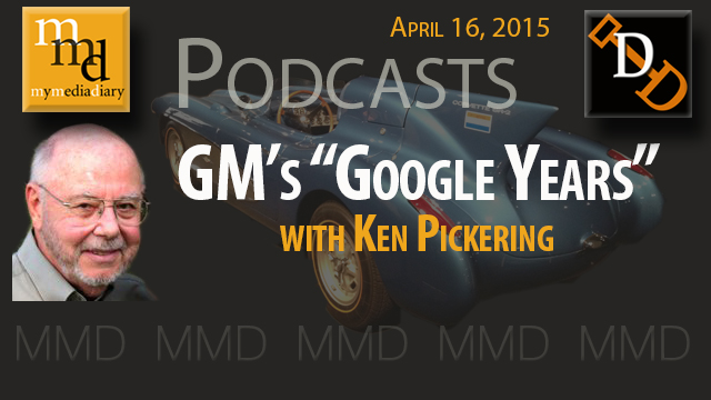 "GM's ""Google Years"" of Designers Harley Earl and Bill Mitchell"