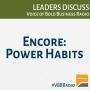 Artwork for Program 73B - Power Habits (encore)
