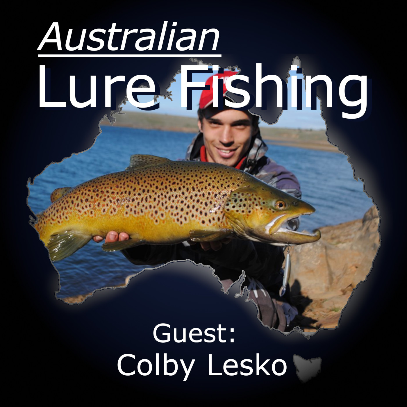 Episode 58: Tullaroop Reservoir Trout Fishing With Colby