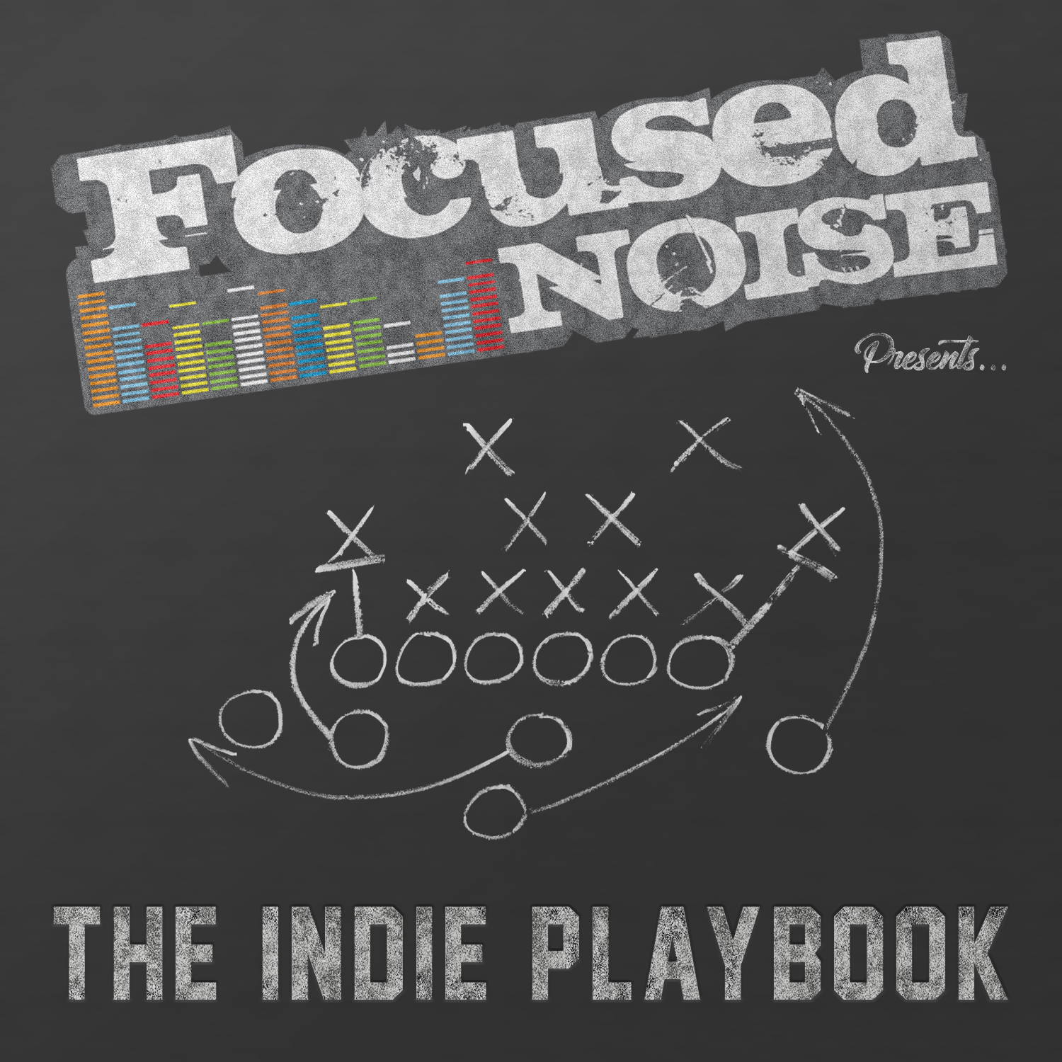 The Indie Playbook Presented by Focused Noise logo