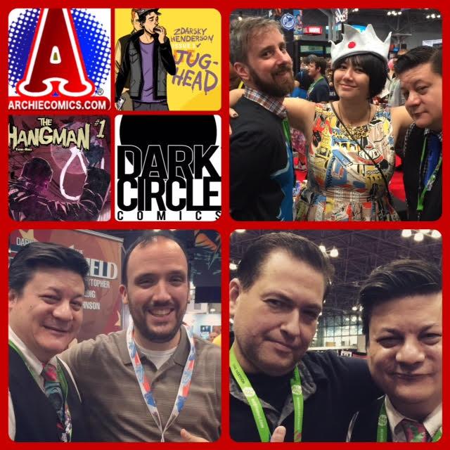 Episode 651 - NYCC: Archie Comics Special w/ Chip Zdarsky/Erica Henderson/Frank Tieri/Alex Segura!