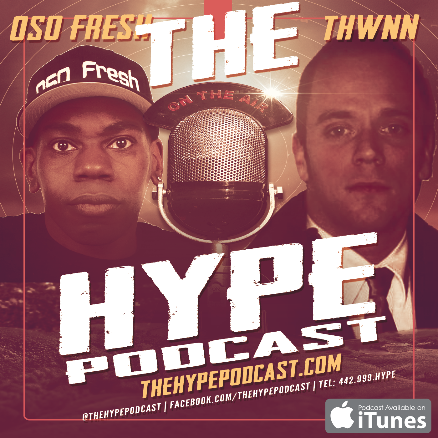 Artwork for The Hype Podcast episode 129 Deep fried Facebook