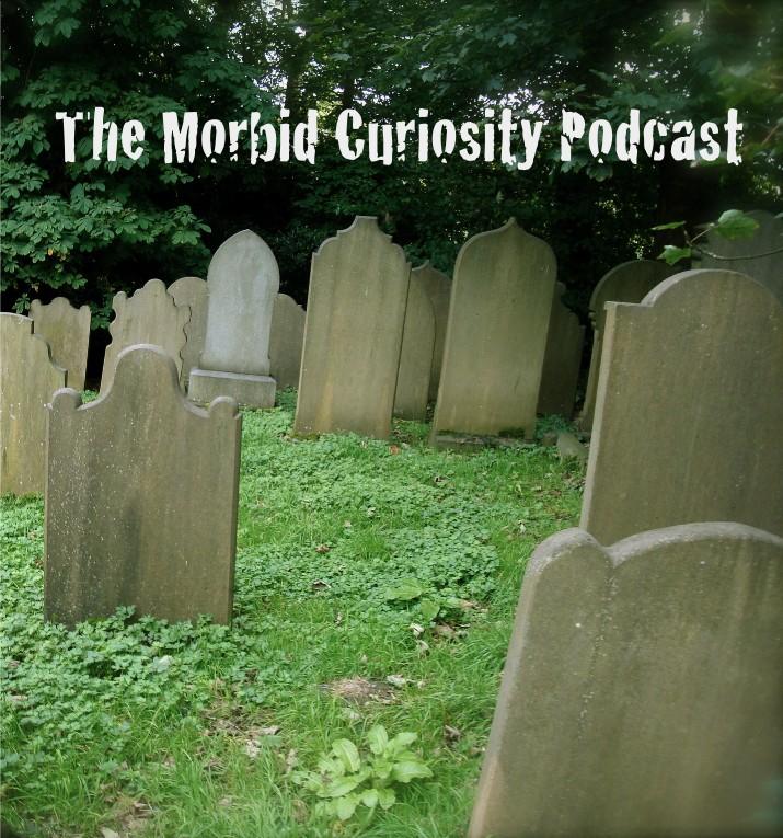 The Morbid Curiosity Podcast show art