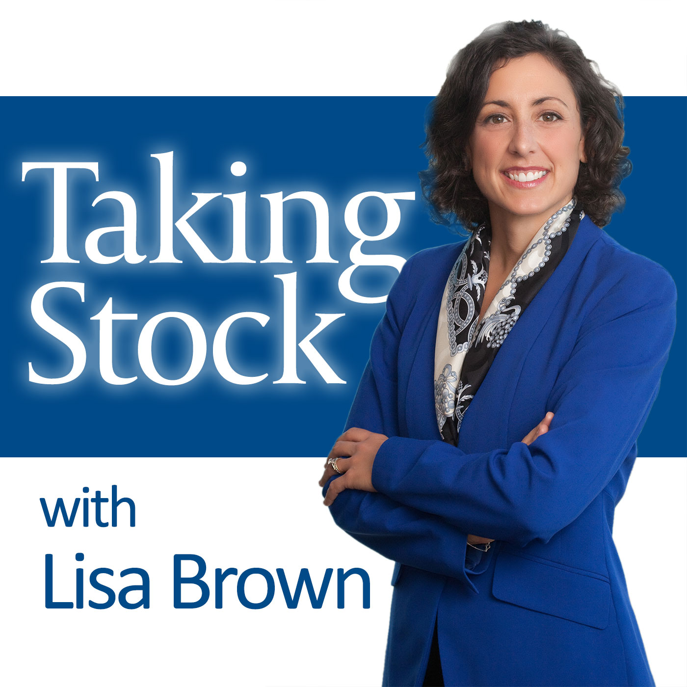 Taking Stock with Lisa Brown show art