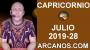 Artwork for HOROSCOPO CAPRICORNIO - Semana 2019-28 Del 7 al 13 de julio de 2019 - ARCANOS.COM