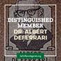 Artwork for 1979 Distinguished Member Dr. Albert deFerrari