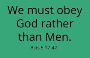 FBP 546 - Obey God Rather Than Man