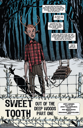 Jeff Lemire Where Sweet Tooth Goes, Nothing Grows