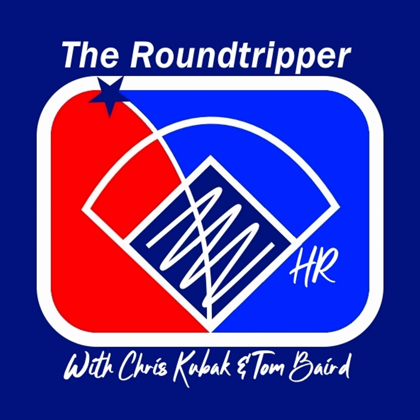 The Roundtripper - A Baseball Podcast show art