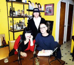 Richard Kern with Lydia Lunch and Tim Dahl