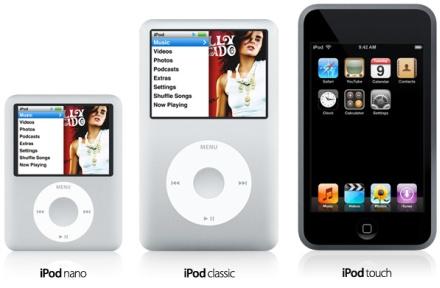 Te presentamos a los nuevos miembros de la familia iPod