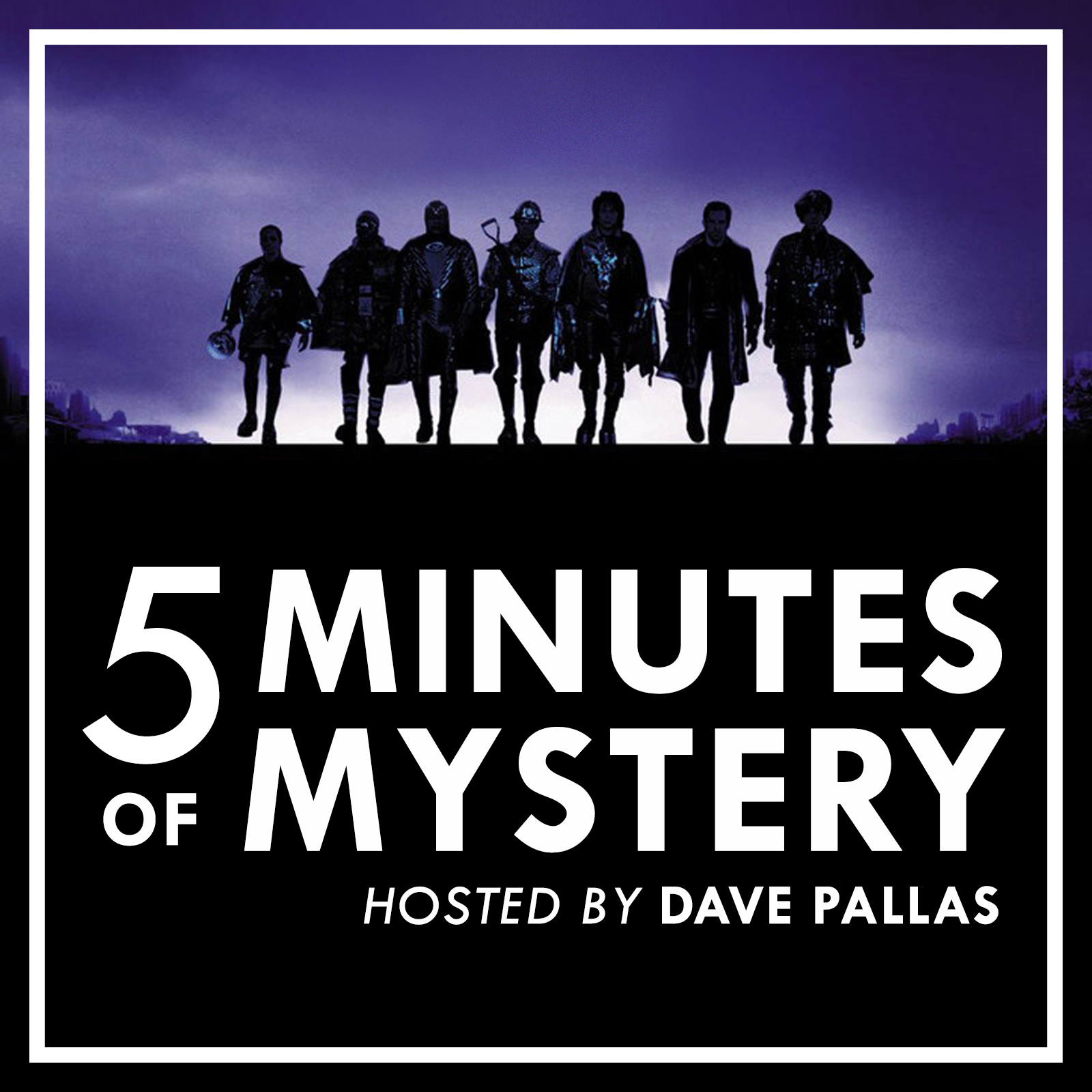 5 Minutes of Mystery show art