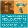 Artwork for Mini006 - AJ Vambaketes talks Gamification, Computer Science & MicroBits at #TeachBetter19!