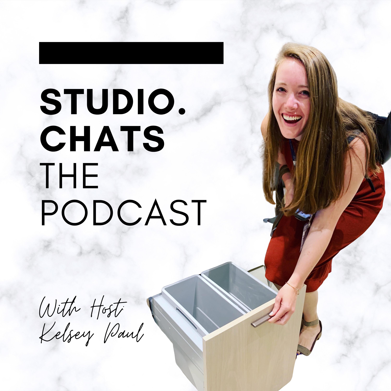 studio.chats the podcast show art