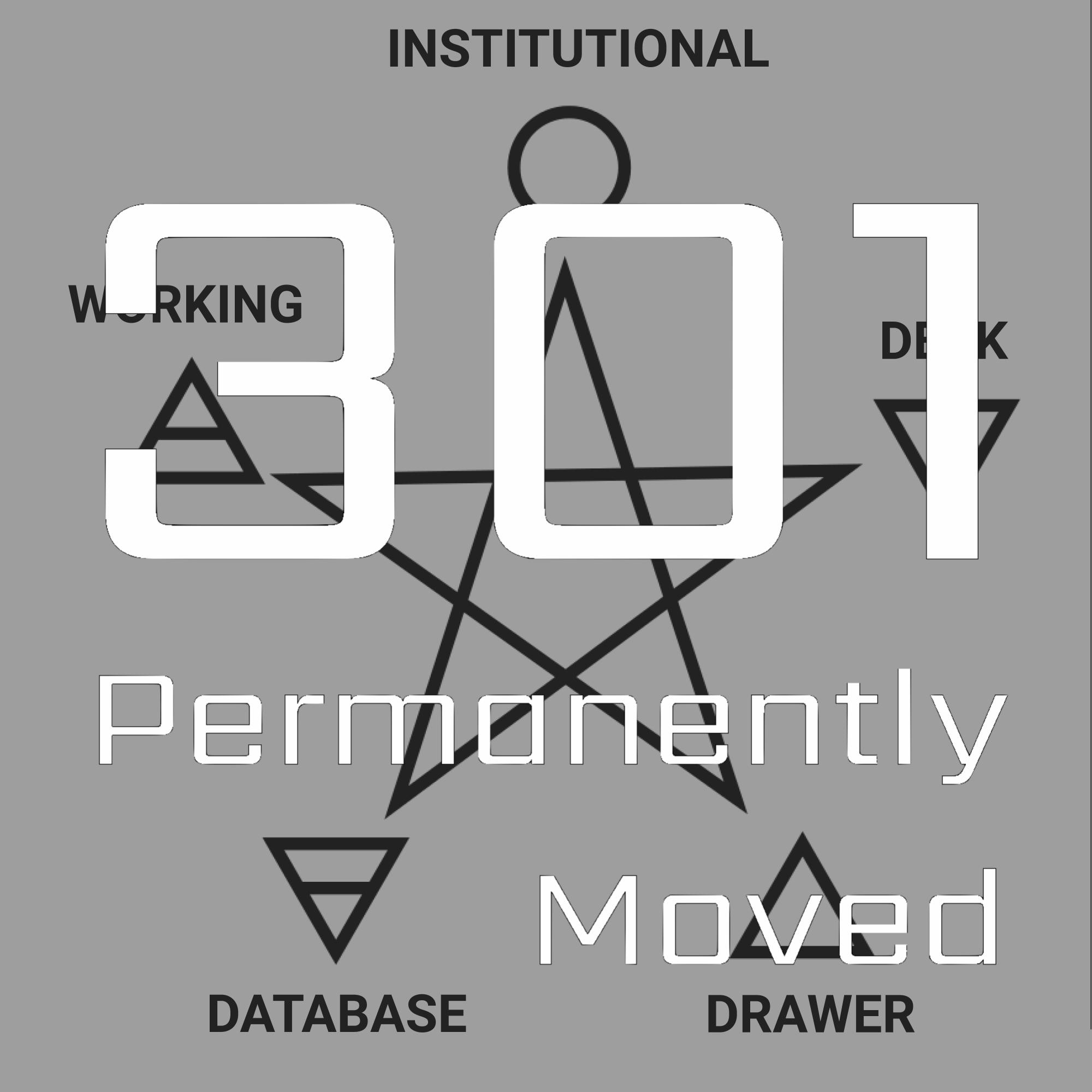 Artwork for 301 - 1933 - Organisational Memory