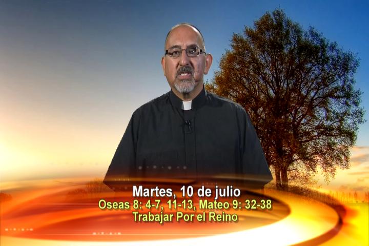 Artwork for Dios te Habla con Fr. Roberto Flores, SVD; Tema el hoy:Trabajar por el Reino