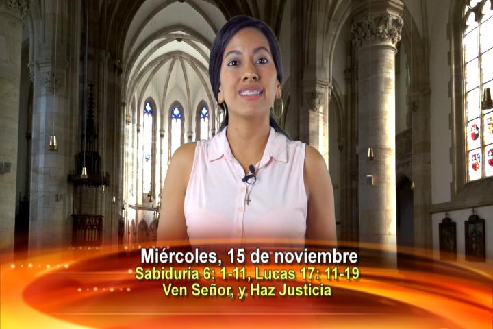 Artwork for Dios te Habla con Stephania Zuniga Naced,   Tema el hoy:Ven, Señor, y haz justicia