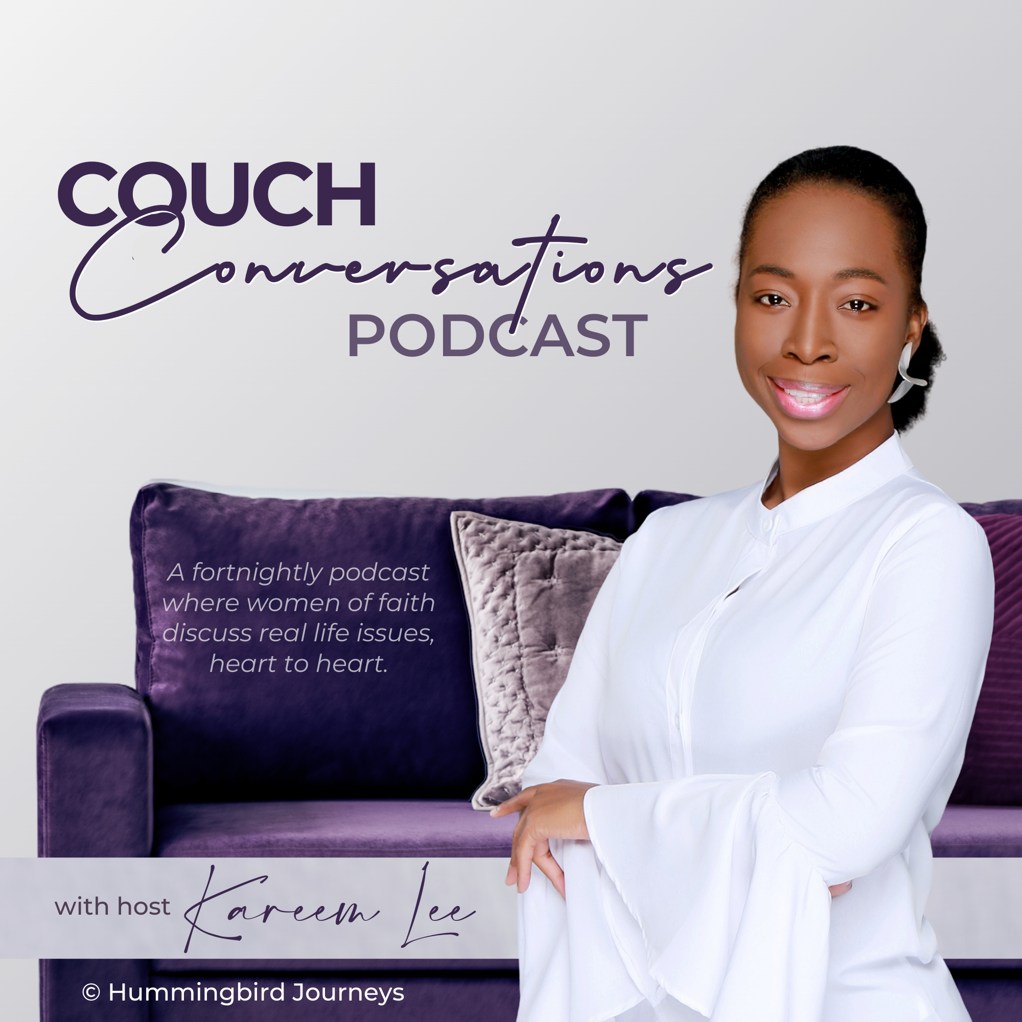 Couch Conversations by Hummingbird Journeys show art