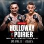 Artwork for Max Holloway vs Dustin Poirier 2 UFC 236