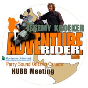 ADV Rider Jeremy Kroeker, HUBB Travelers Meeting in Ontario Canada