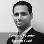 Artwork for Takeleap founder Salman Yusuf
