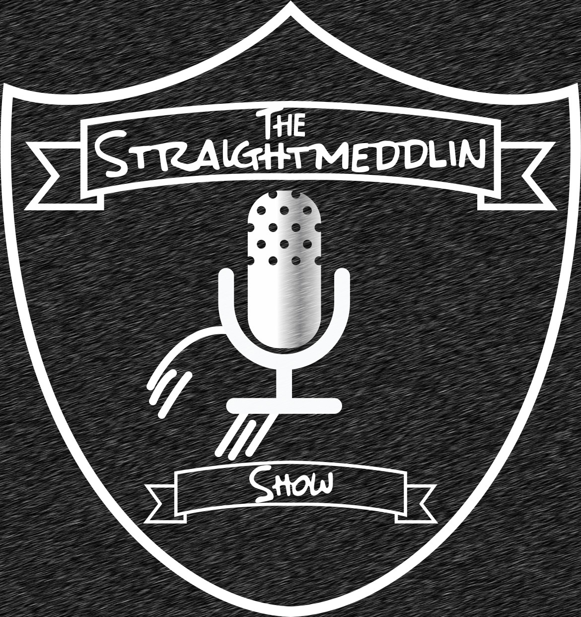 The #Straightmeddlin Show show art