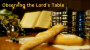 Artwork for Observing the Lord's Table