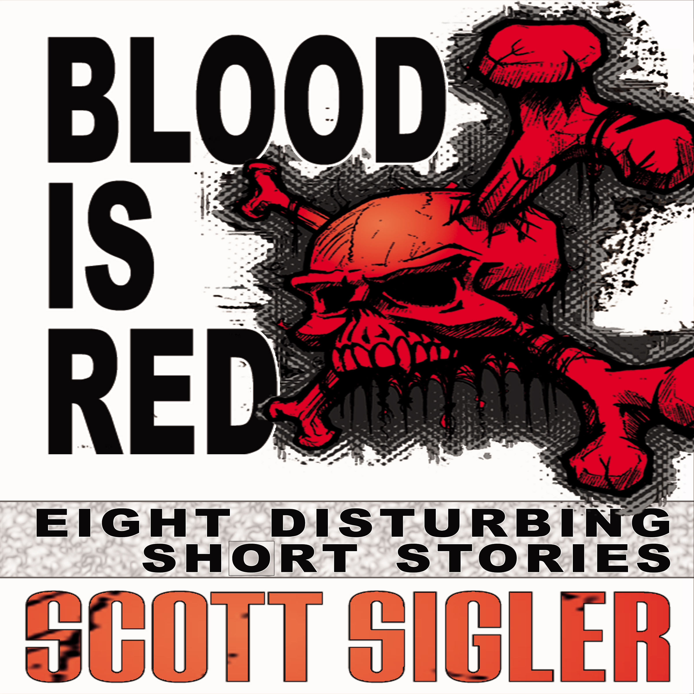 Cover for 'BLOOD IS RED'
