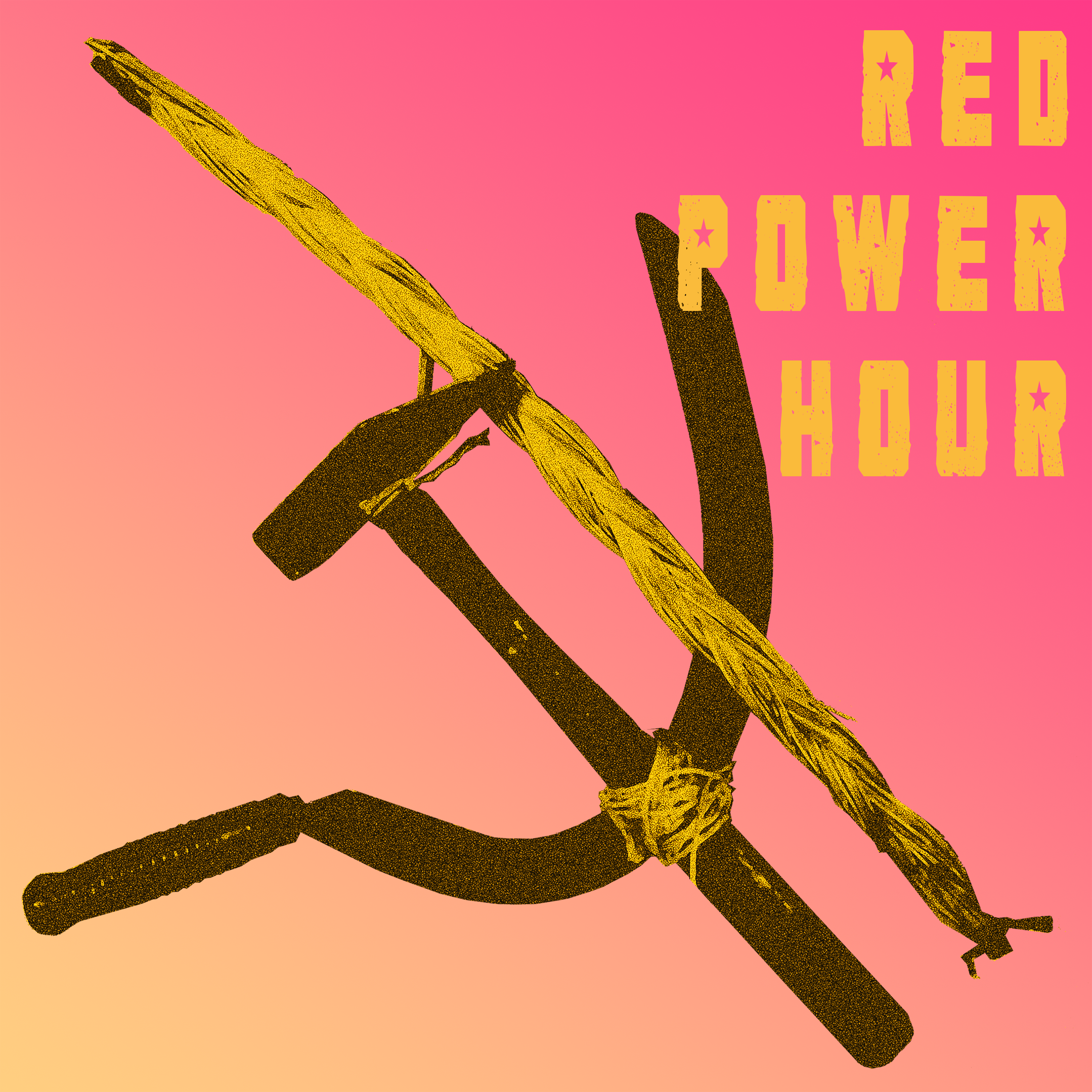 Red Power Hour show art