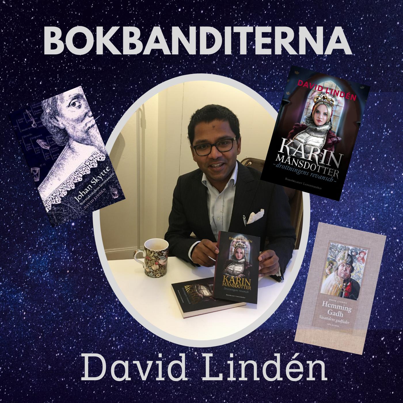 Intervju med David Lindén om hans nya bok: Karin Månsdotter